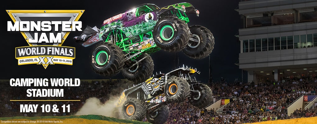 MONSTER JAM WORLD FINALS XX | Camping World Stadium
