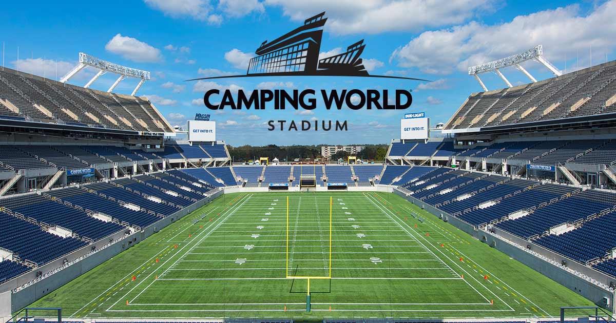Seating Charts | Camping World Stadium on