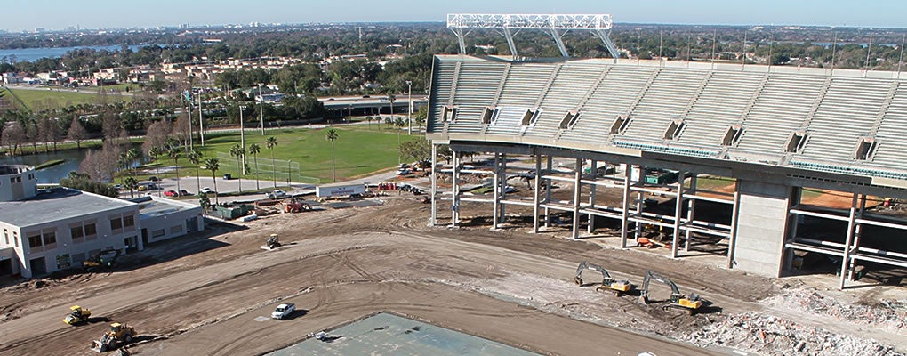 Reconstruction camping world stadium malvernweather Gallery